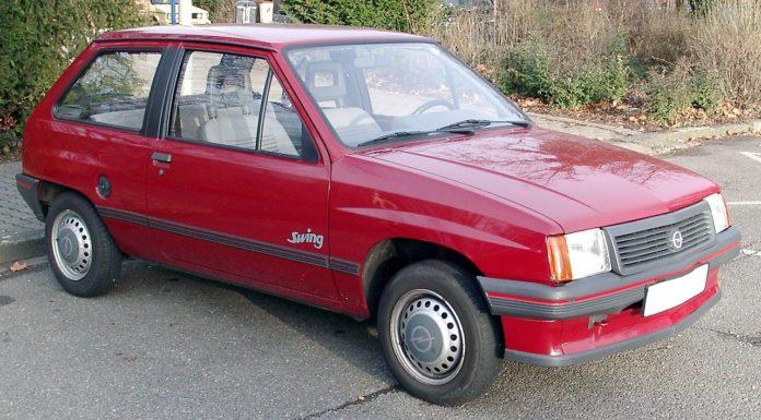 Opel Corsa A - źródło: wikipedia, Rudolf Stricker