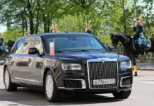 nowa limuzyna Putina