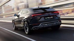 nowe Lamborghini Urus
