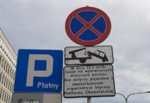 Parking tylko dla PO