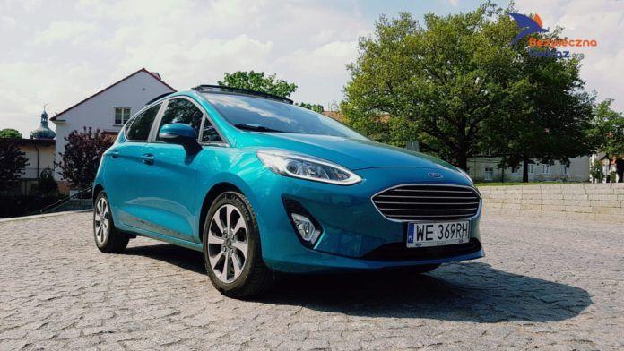 Ford Fiesta EcoBoost 125KM Titanium - Babskim Okiem