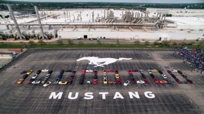 Ford Mustang i jego 10 milionowy egzemplarz