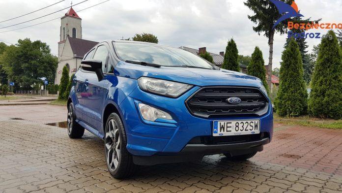 Ford EcoSport EcoBoost 140KM ST line