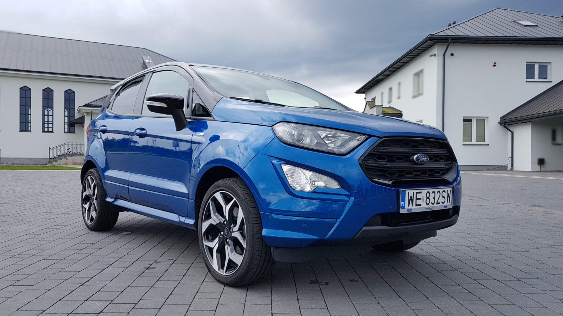 Ford EcoSport EcoBoost 140KM ST line - Babskim Okiem