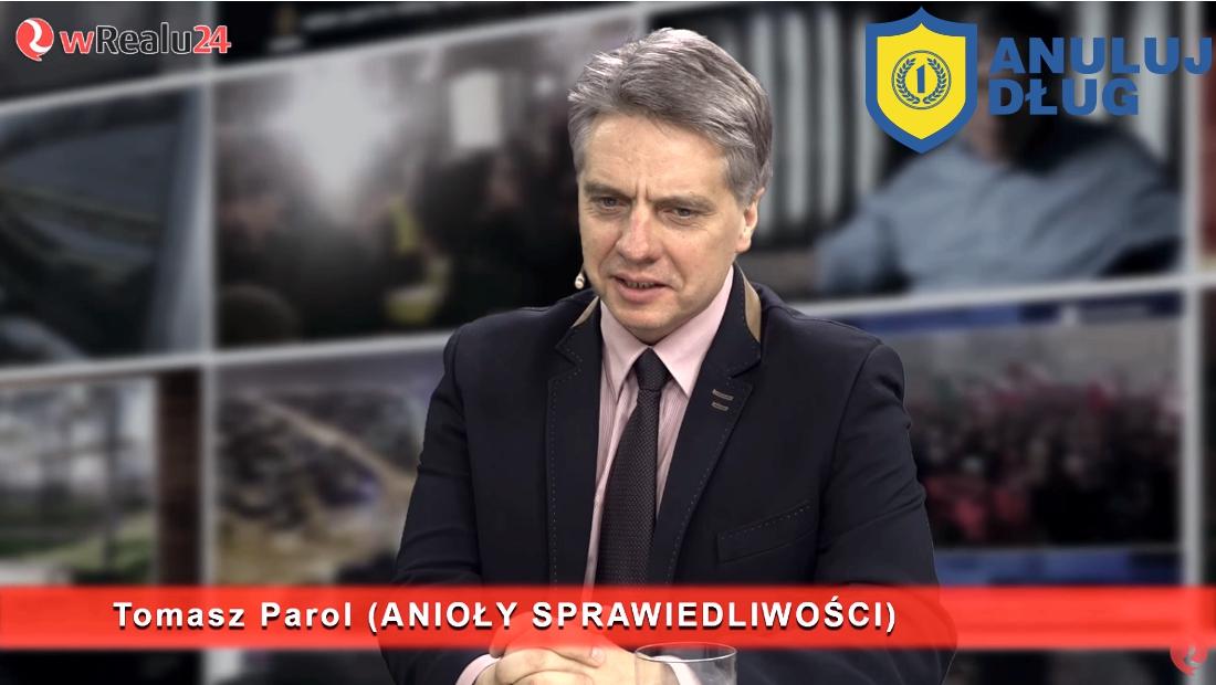 anuluj dług tomasz parol Konrad Olczak - pomoc