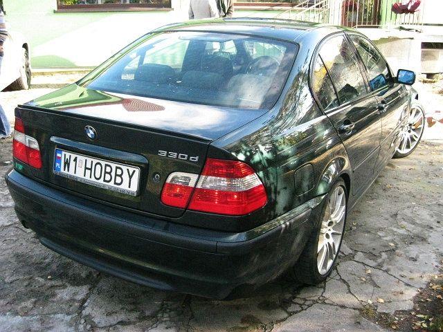 BMW 330d E46 z dieslem M57