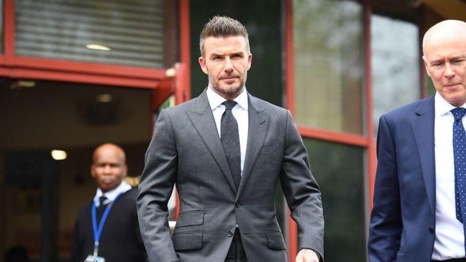 David Beckham stracił prawo jazdy