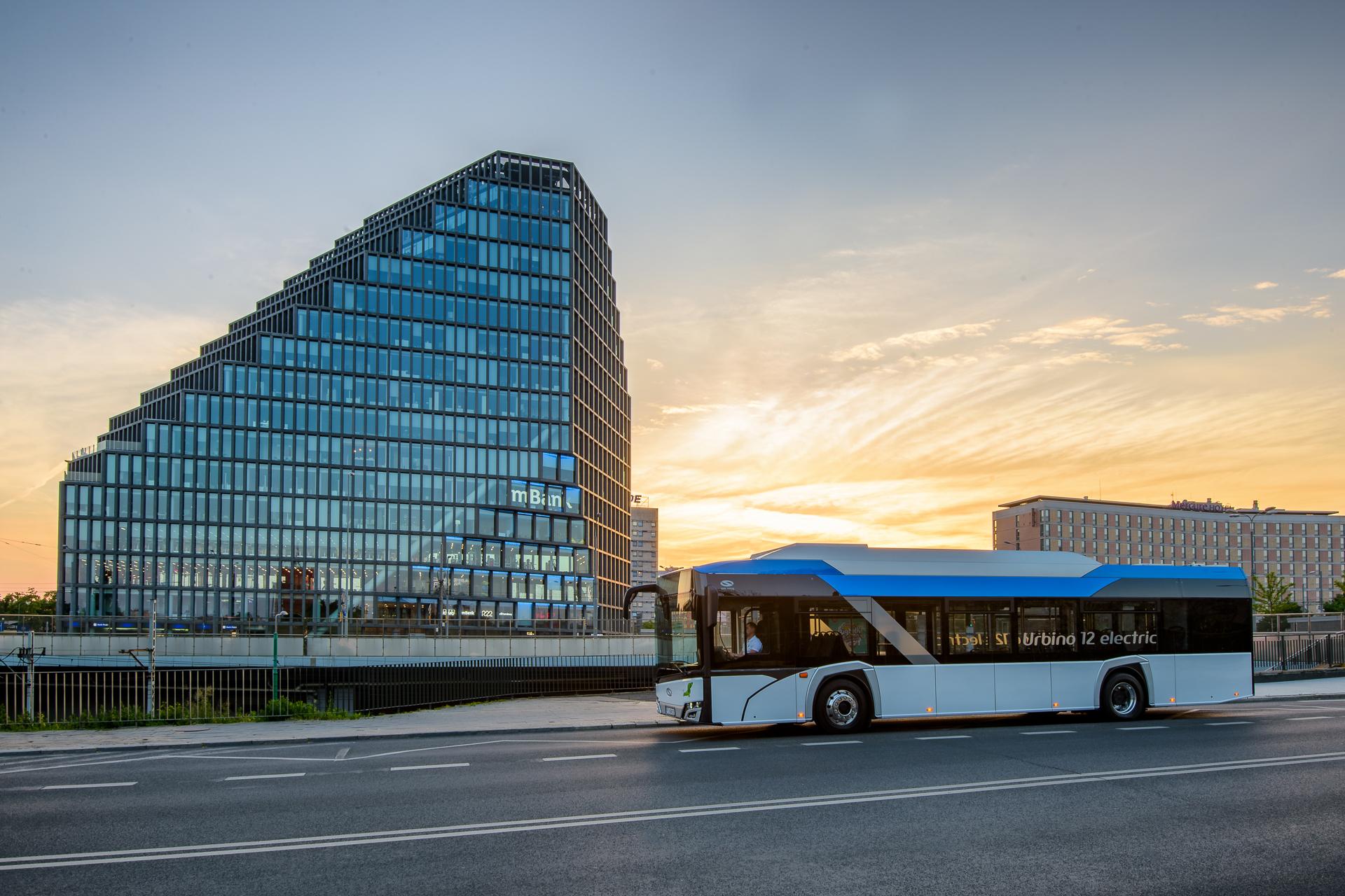 Największy producent autobusów elektrycznych