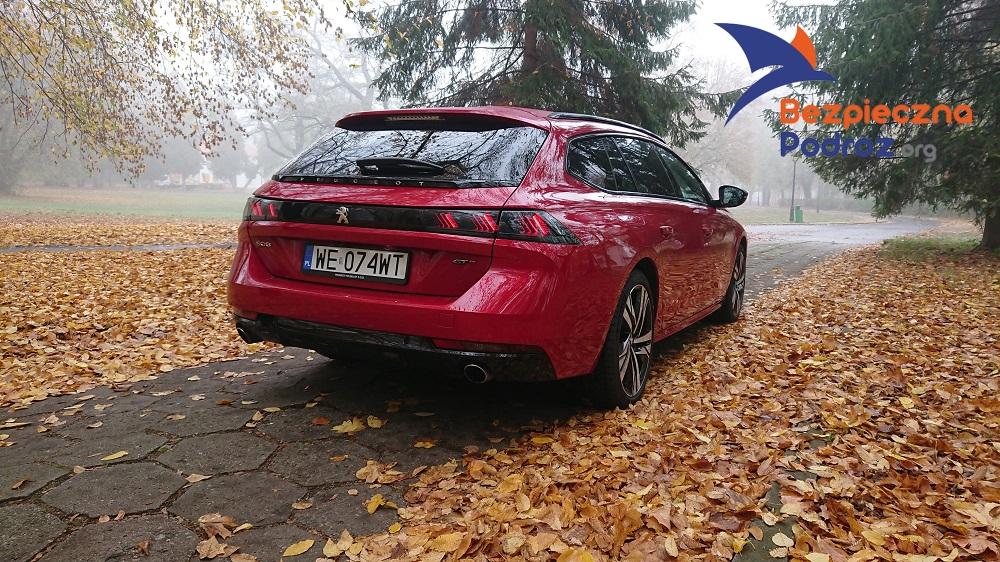 Peugeot 508SW Sport 1600 turbo benzyna 225KM
