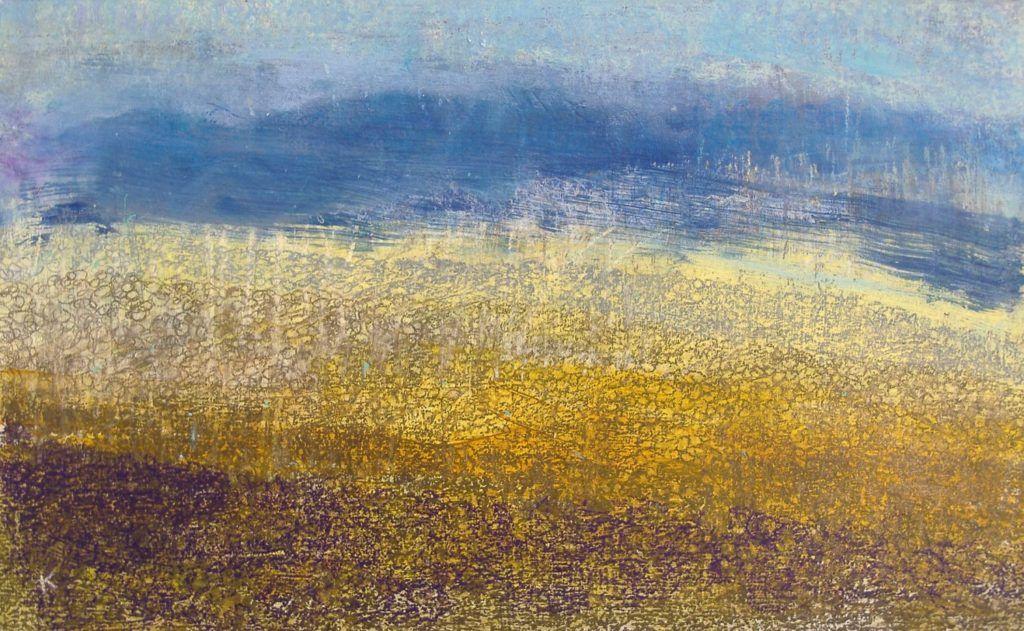 niewidomi malarze Keith Salmon