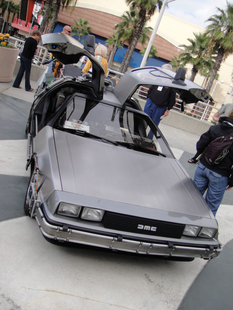 DeLorean ma aż siedem wersji
