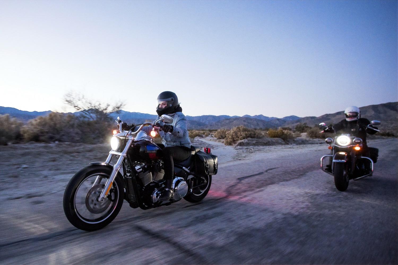 oświetlenie motocyklu