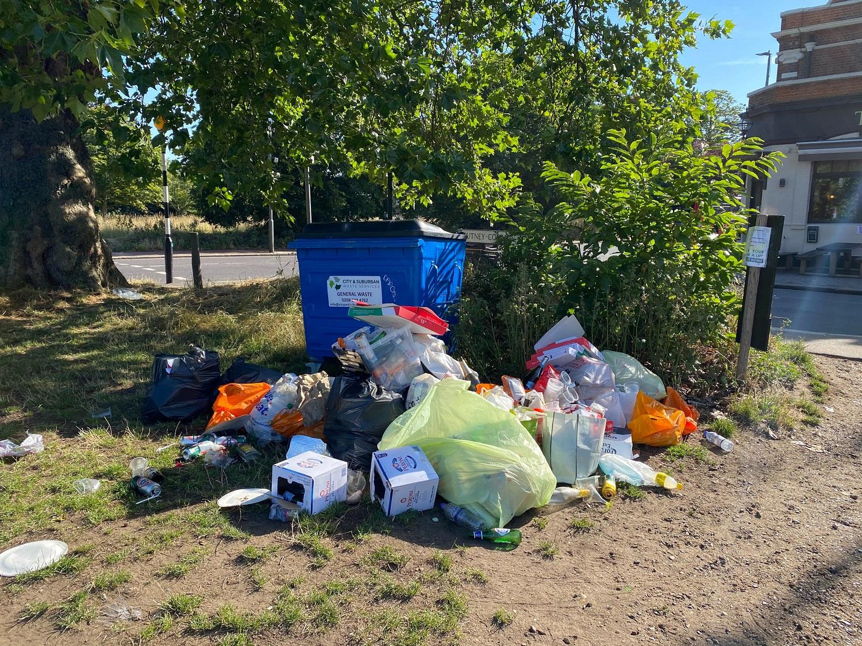 Kary za wyrzucanie śmieci